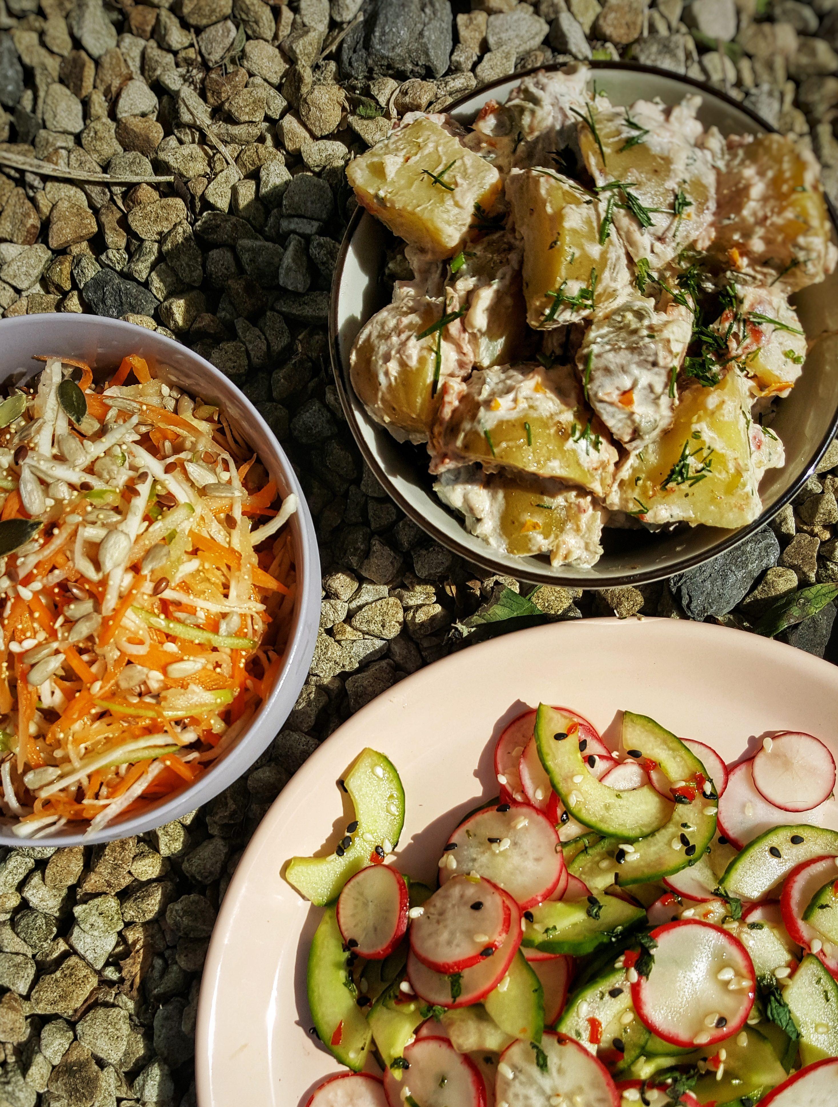 Mediterranean Style Potato Salad; Sinead Delahunty; Delalicious