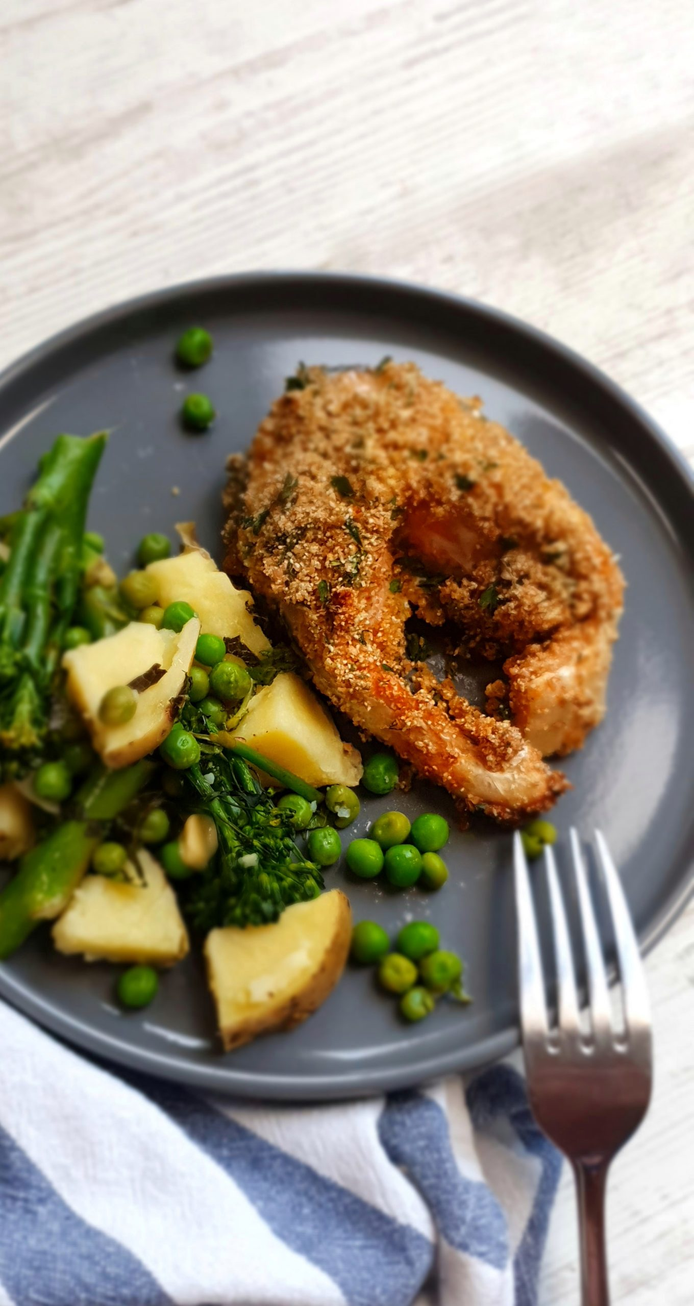 Herb Crusted Baked Salmon; Delalicious; Sinead Delahunty