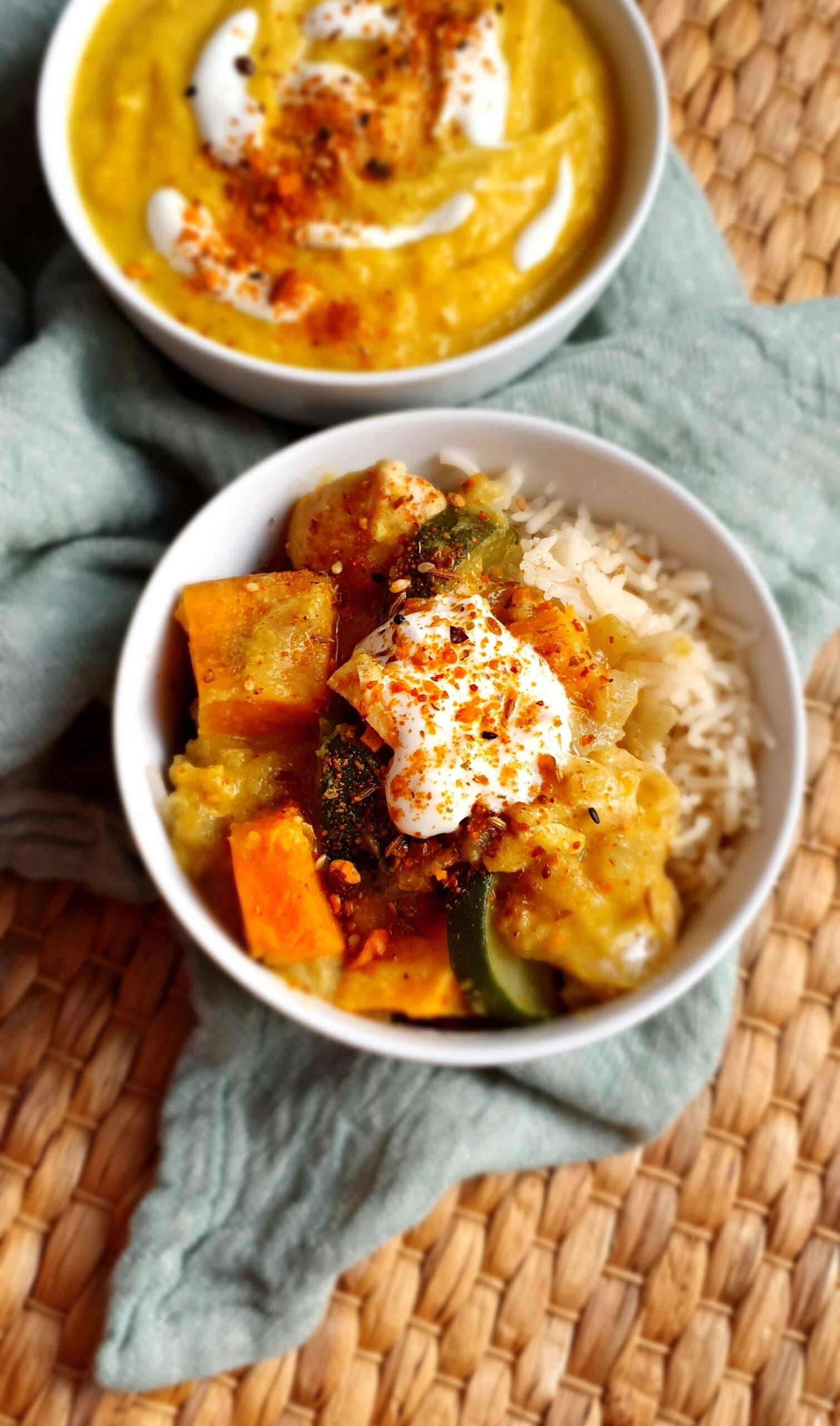 Roast Pumpkin Chicken Curry; Delalicious; Sinead Delahunty