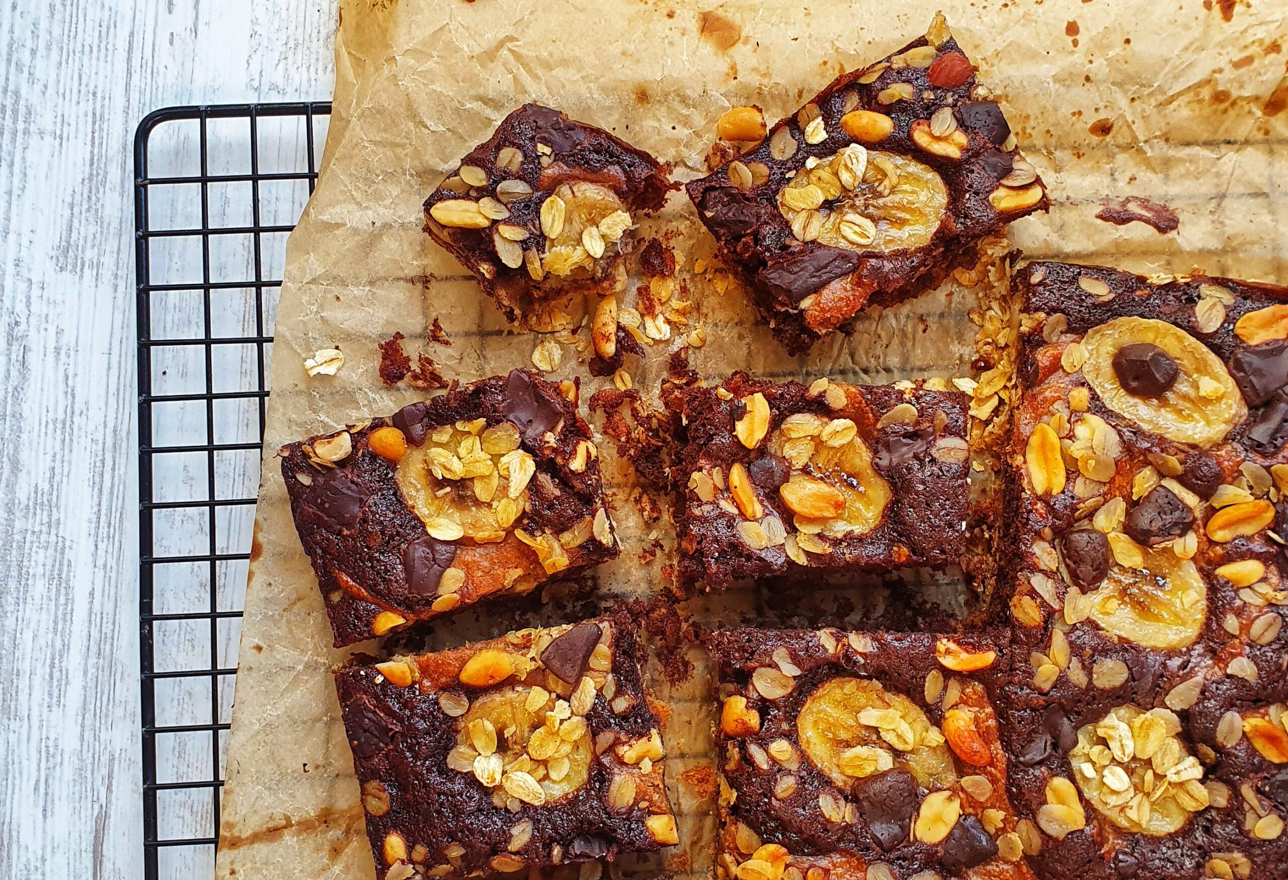 Banoffee Brownies; Delalicious; Sinead Delahunty