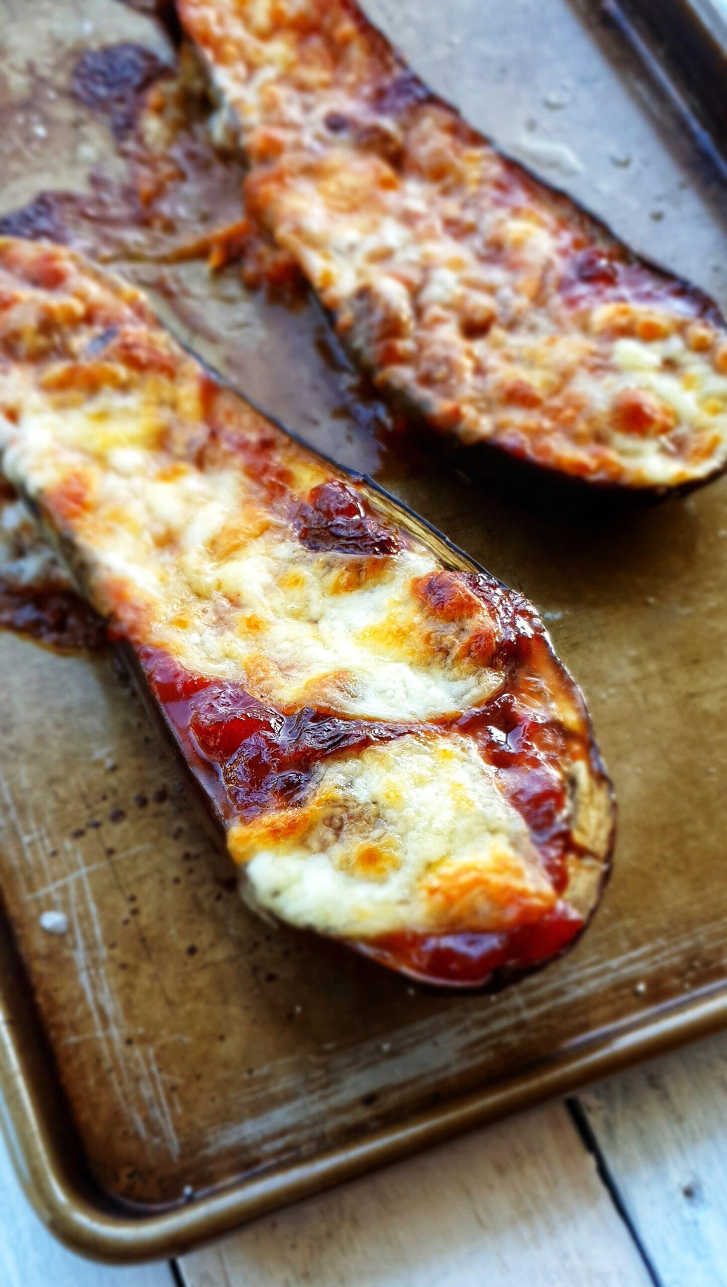 Cheesy Baked Aubergine; Delalicious; Sinead Delahunty