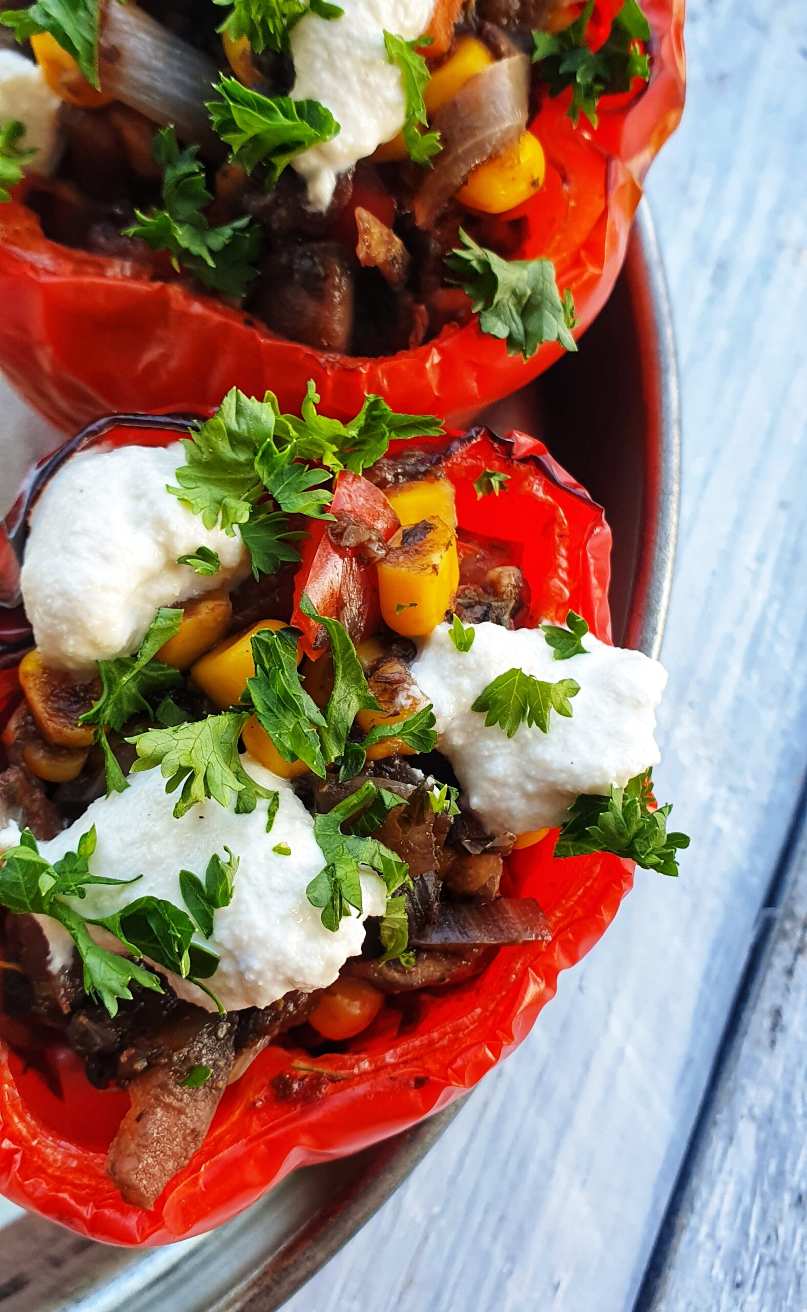 Stuffed Red Peppers; Delalicious; Sinead Delahunty
